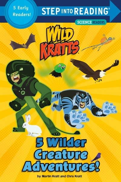 Random House Books for Young Readers 5 Wilder Creature Adventures (Wild Kratts)