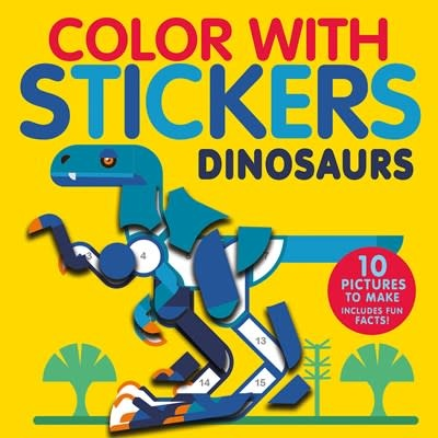 Tiger Tales Color with Stickers: Dinosaurs