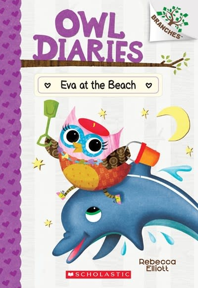 Scholastic Inc. Eva at the Beach: A Branches Book (Owl Diaries #14)