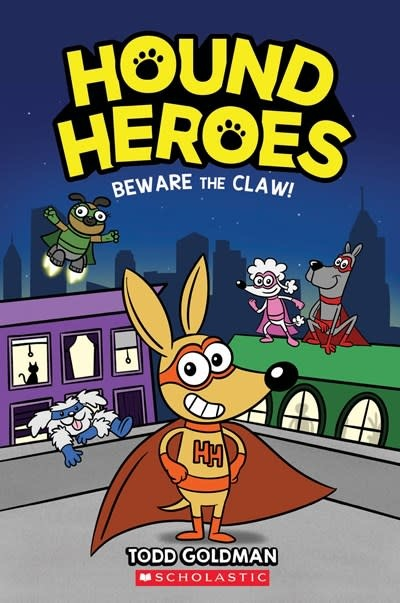 Graphix Beware the Claw! (Hound Heroes #1)
