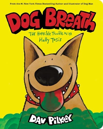Cartwheel Books Dog Breath: A Board Book