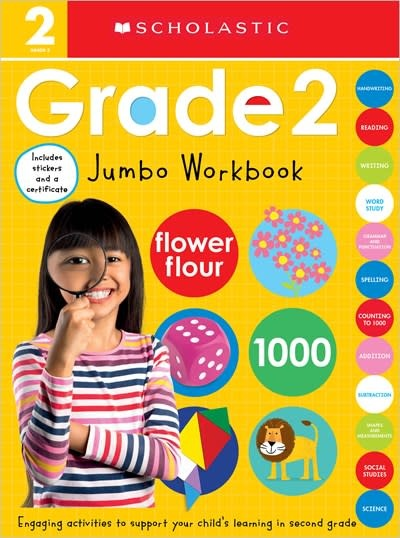 Cartwheel Books Second Grade Jumbo Workbook: Scholastic Early Learners (Jumbo Workbook)