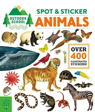Odd Dot Outdoor School: Spot & Sticker Animals