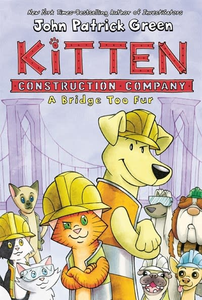 First Second Kitten Construction Company: A Bridge Too Fur