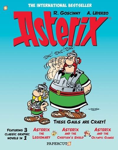 Papercutz Asterix Omnibus #4