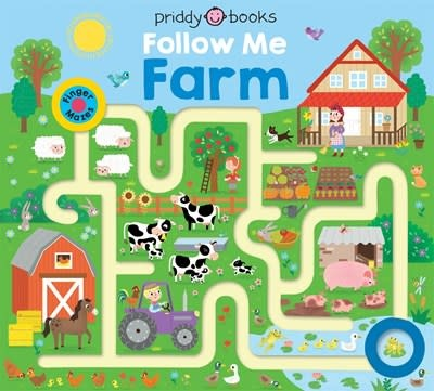 Priddy Books US Maze Book: Follow Me Farm