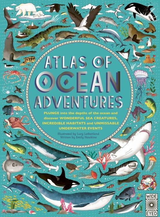 Wide Eyed Editions Atlas of Ocean Adventures