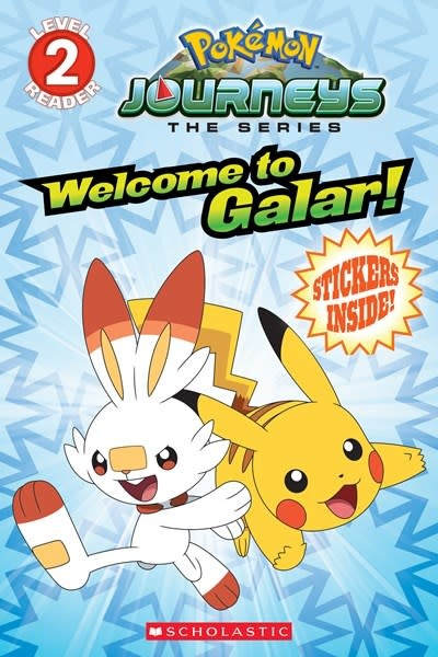 Scholastic Inc. Pokemon: Galar Reader #1