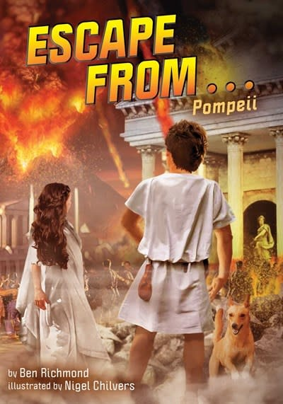 little bee books Escape from . . . Pompeii