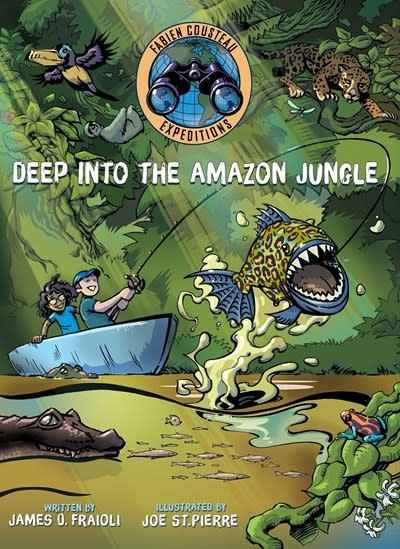 Margaret K. McElderry Books Fabian Cousteau Expeditions: Deep into the Amazon Jungle