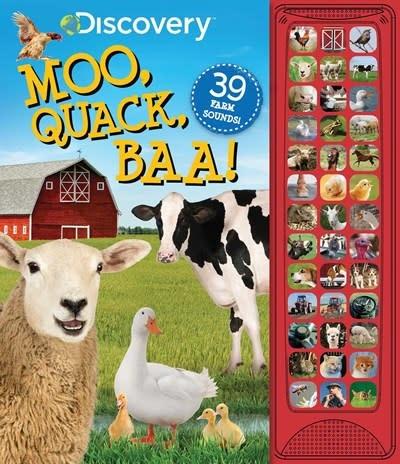 Silver Dolphin Books Discovery: Moo, Quack, Baa!