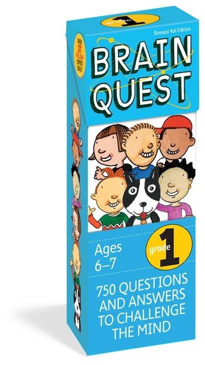 Brain Quest Q&A Cards: Grade 1