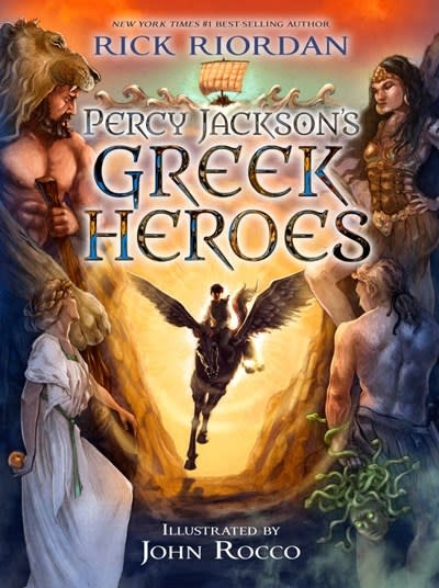 Disney-Hyperion Percy Jackson's Greek Heroes (Companion)