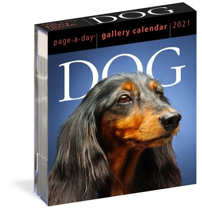 Workman Publishing Company Dog Page-A-Day Gallery Calendar 2021