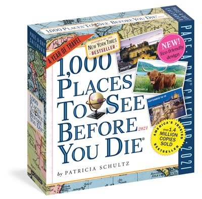 Workman Publishing Company 1,000 Places to See Before You Die Page-A-Day Calendar 2021