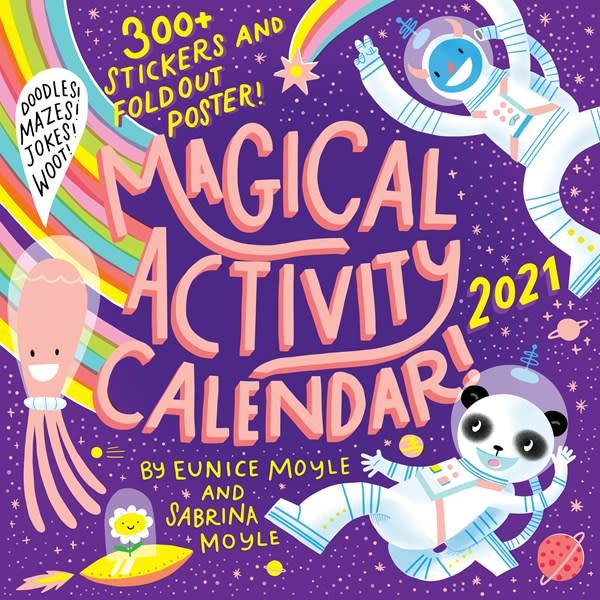 Workman Publishing Company Magical Activity Wall Calendar 2021