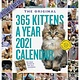 Workman Publishing Company 365 Kittens-A-Year Picture-A-Day Wall Calendar 2021