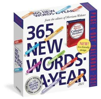 Workman Publishing Company 365 New Words-A-Year Page-A-Day Calendar 2021