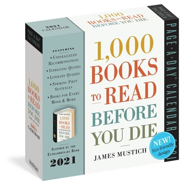 Workman Publishing Company 1,000 Books to Read Before You Die Page-A-Day Calendar 2021