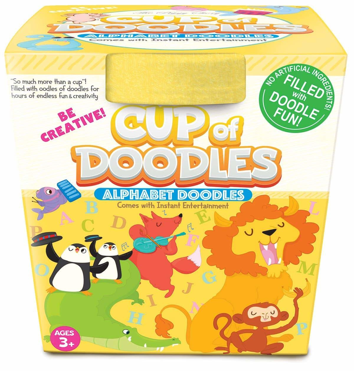 Cup of Doodles- Alphabet Doodles