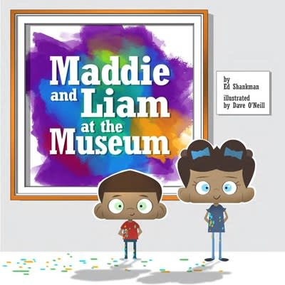 Commonwealth Editions Maddie and Liam at the Museum