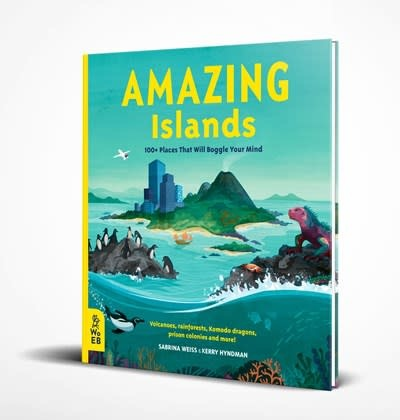 What on Earth Books Amazing Islands