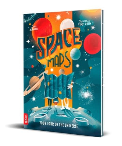 What on Earth Books Space Maps
