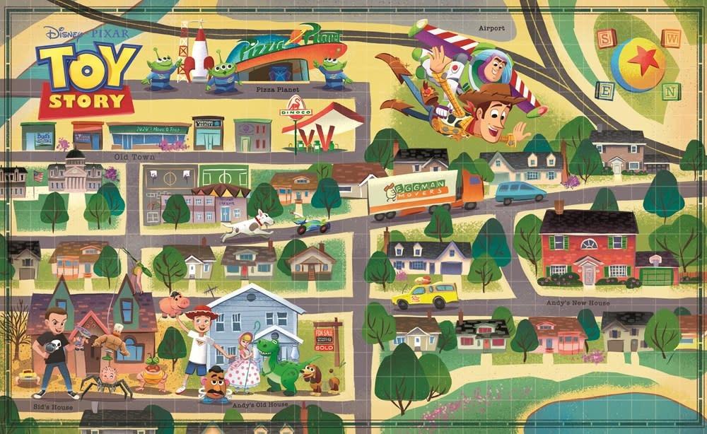 Disney Press Disney Maps