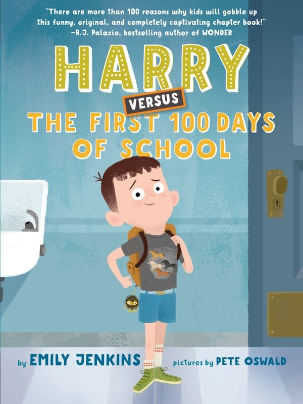 Anne Schwartz Books Harry Versus the First 100 Days of School