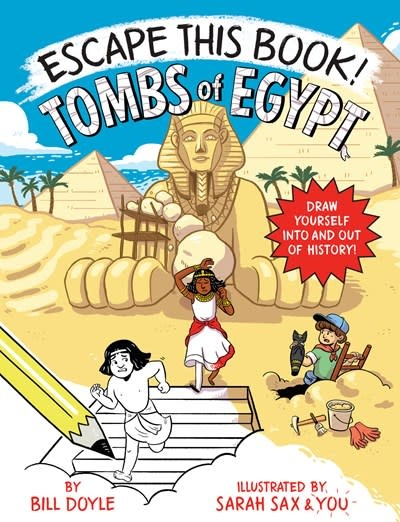 Yearling Escape This Book! Tombs of Egypt