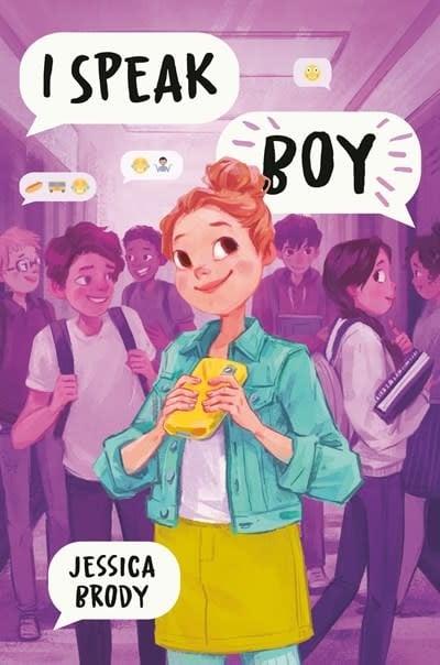 Delacorte Books for Young Readers I Speak Boy