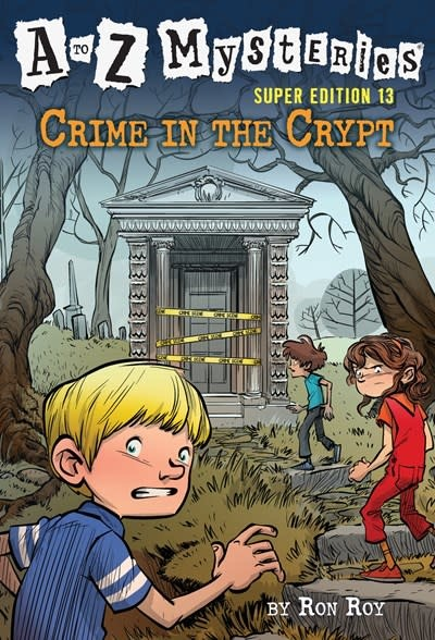 Random House Books for Young Readers A to Z Mysteries Super Edition #13: Crime in the Crypt