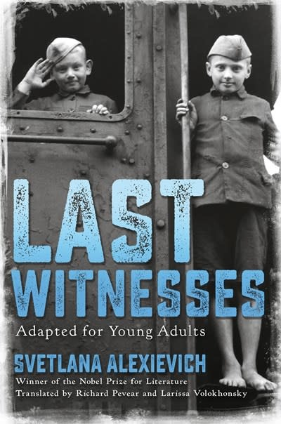 Delacorte Press Last Witnesses (Adapted for Young Adults)