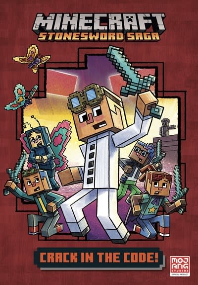 Random House Books for Young Readers Crack in the Code! (Minecraft Stonesword Saga #1)
