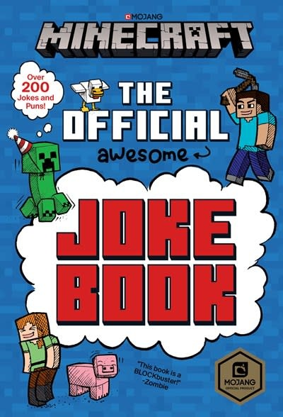 Random House Books for Young Readers Minecraft: The Official Joke Book (Minecraft)