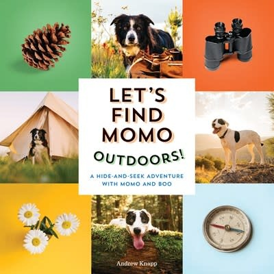 Quirk Books Let's Find Momo Outdoors!