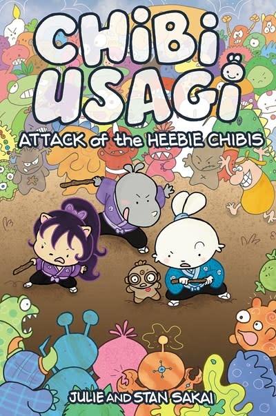 IDW Publishing Chibi-Usagi: Attack of the Heebie Chibis