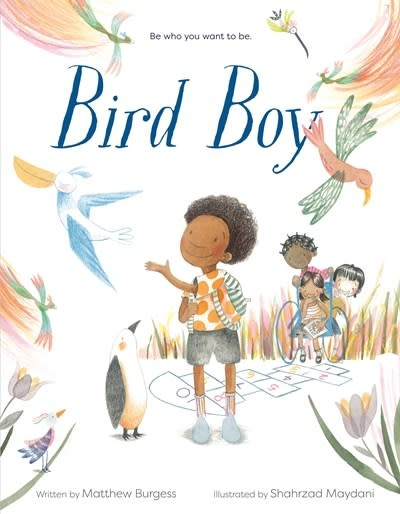 Knopf Books for Young Readers Bird Boy (An Inclusive Children's Book)