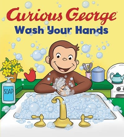 HMH Books for Young Readers Curious George Wash Your Hands (CGTV Board book)