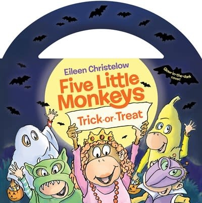 HMH Books for Young Readers Five Little Monkeys Trick-or-Treat (Glow-in-the-Dark edition)