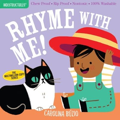 Workman Publishing Company Indestructibles: Rhyme with Me!