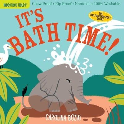 Workman Publishing Company Indestructibles: It's Bath Time!