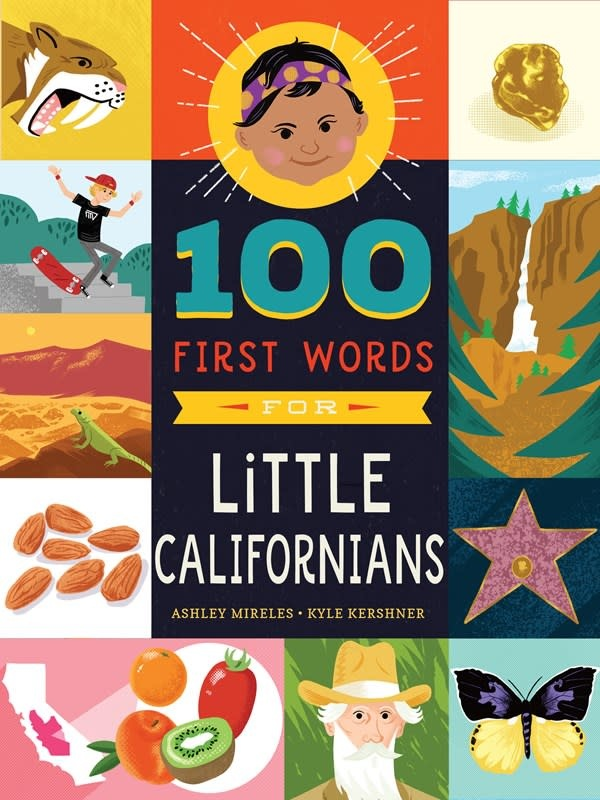 Familius 100 First Words for Little Californians