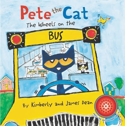 HarperFestival Pete the Cat: The Wheels on the Bus Sound Book
