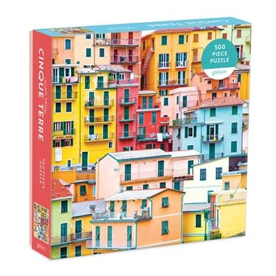 Galison Ciao from Cinque Terre 500 Piece Puzzle