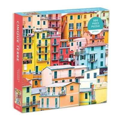 Galison Ciao from Cinque Terre 500 Piece Puzzle