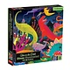 Mudpuppy Illuminated: Dinos (500 Piece Glow in the Dark Family Puzzle)