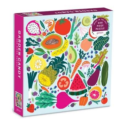 Galison Garden Candy 500 Piece Puzzle