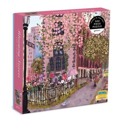Galison Blooming Streets 500 Piece Puzzle
