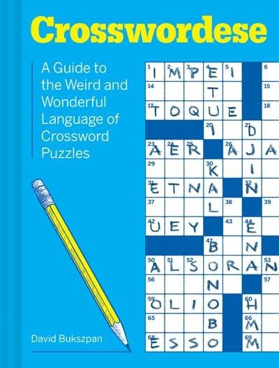 Chronicle Books Crosswordese